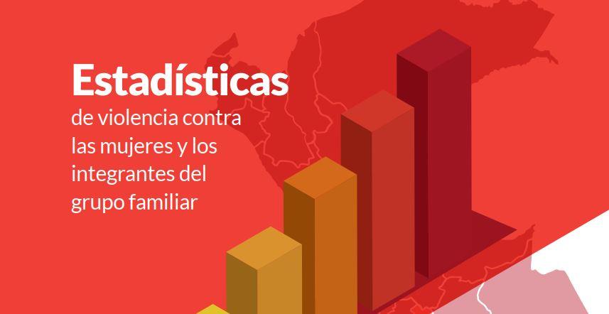 Estadística de violencia contra las mujeres y los integrantes del grupo familiar