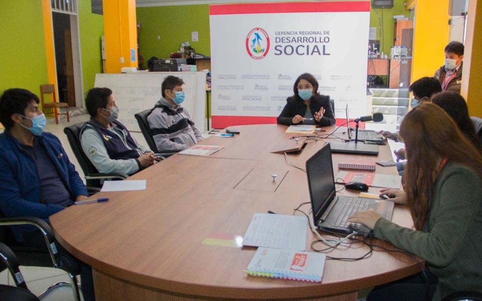 Reunión técnica el marco de la lucha contra la anemia y desnutrición crónica infantil