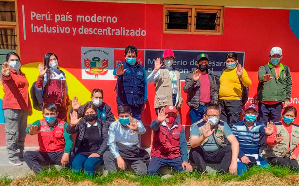 El distrito de Carapo, provincia de Huanca Sancos, se suma al Proyecto Mujer
